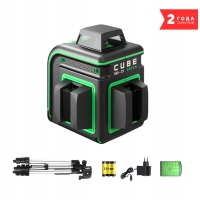 Лазерный уровень ADA CUBE 360 2V GREEN PROFESSIONAL EDITION